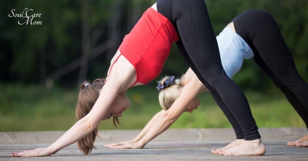 Downward Dog - Soul Care Mom Yoga