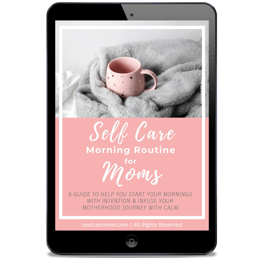 Simple Self Care Morning Routine for Moms - Download the Printable